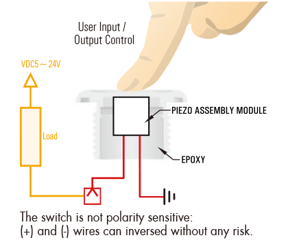 piezo switch piezo switch wiring schemes